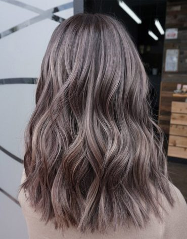 Awesome Dimensional Smokey Brown Hair Color for 2019