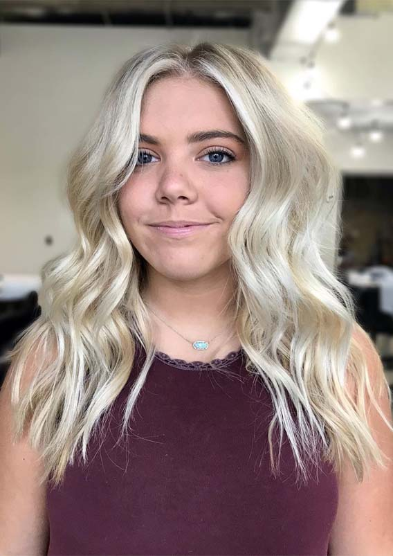 Best Face Framing Blonde Haircuts for Women 2019