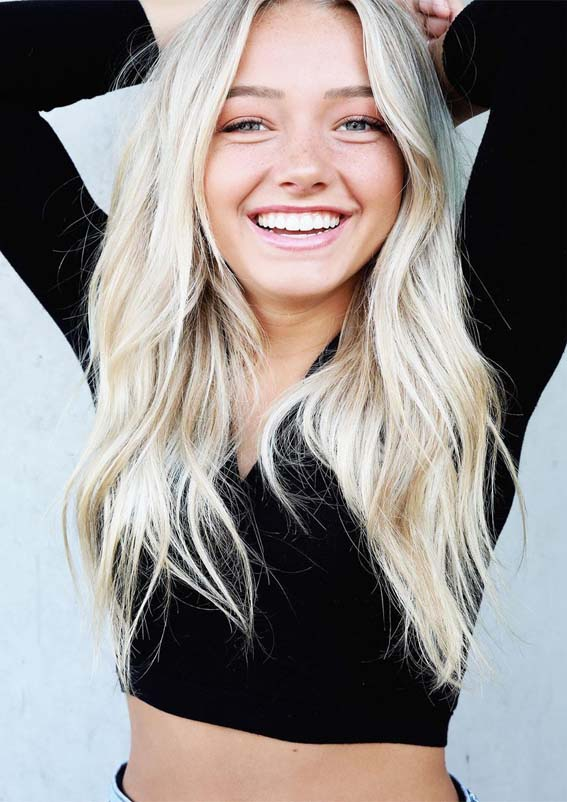 Best Blonde Hair Colors For Long Hair To Show Off In 2019