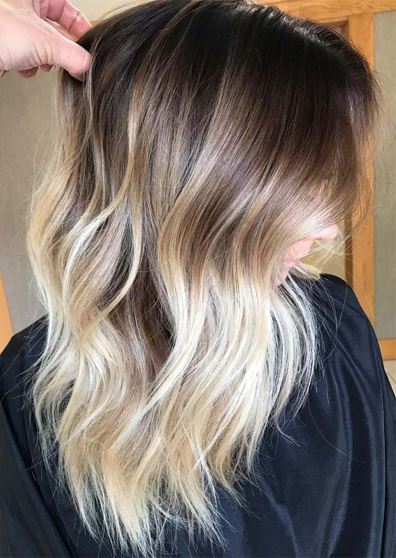 Bronde Balayage Hair Colors Highlights for 2019