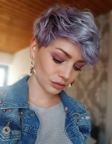 Fabulous Pixie Haircut & Hair Color for 2019