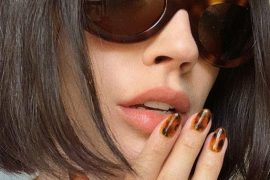 Lovely Tortoise Shell Nail Trends To Try In 2019
