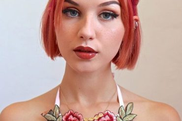 Amazing Look of Short Bob Hair with Pink Highlights In 2019