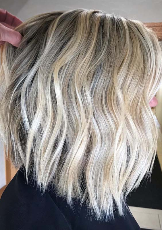 Brightest Shades Of Blonde Hair Colors for 2019