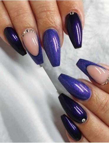 Fantastic Purple Nail Designs for Ladies in 2019
