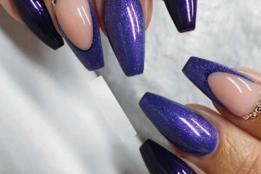 Fantastic Purple Nail Designs for Ladies in 2019