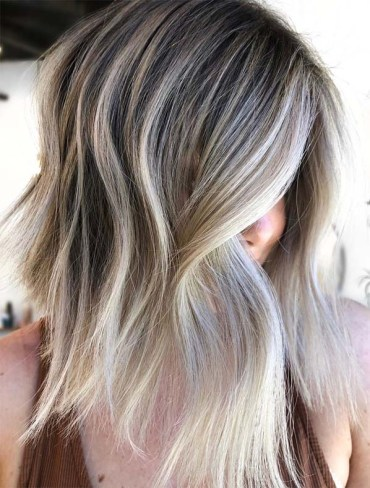 Awesome Shades Of Blonde Hair Colors for Bob Cuts for 2019