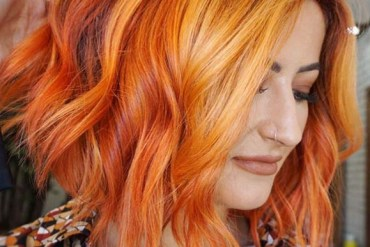 Ginger red hair color ideas for fashionable look in 2019