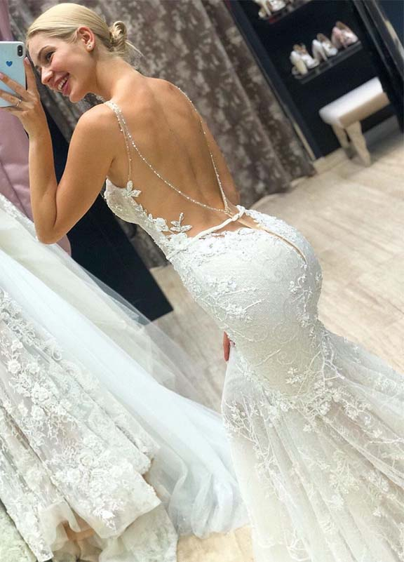 Gorgeous Bridal and Wedding Dresses Ideas in this year 2019