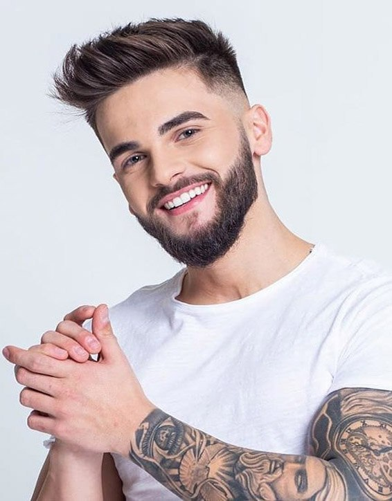 Ideal Mens Hairstyles with Beard to Copy Now