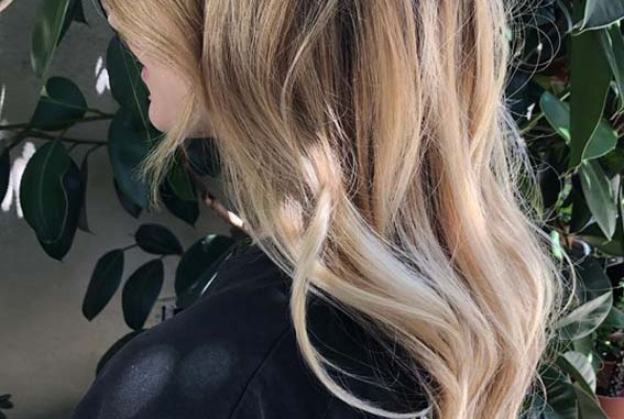 Rooty vanilla balayage hair color shades Yo Must show off nowadays