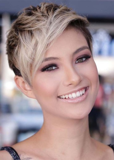 Awesome Undercut Pixie Haircuts for Women in 2019