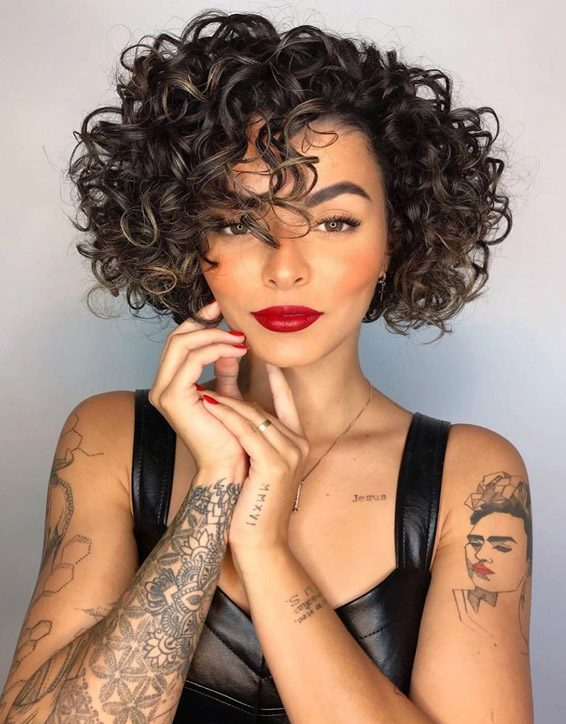 Modern Short Curly Haircuts & Styles In 2019