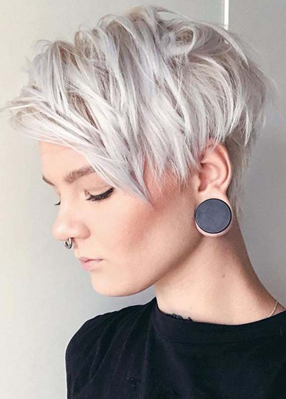 Undercut Short Pixie Haircut Styles for 2019