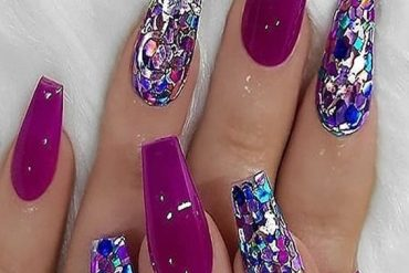 Awesome Pink & Purple Nail Color for Fall Season of 2019