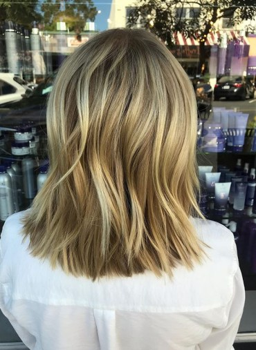 Babylights and balayage textured haircuts to follow in year 2019