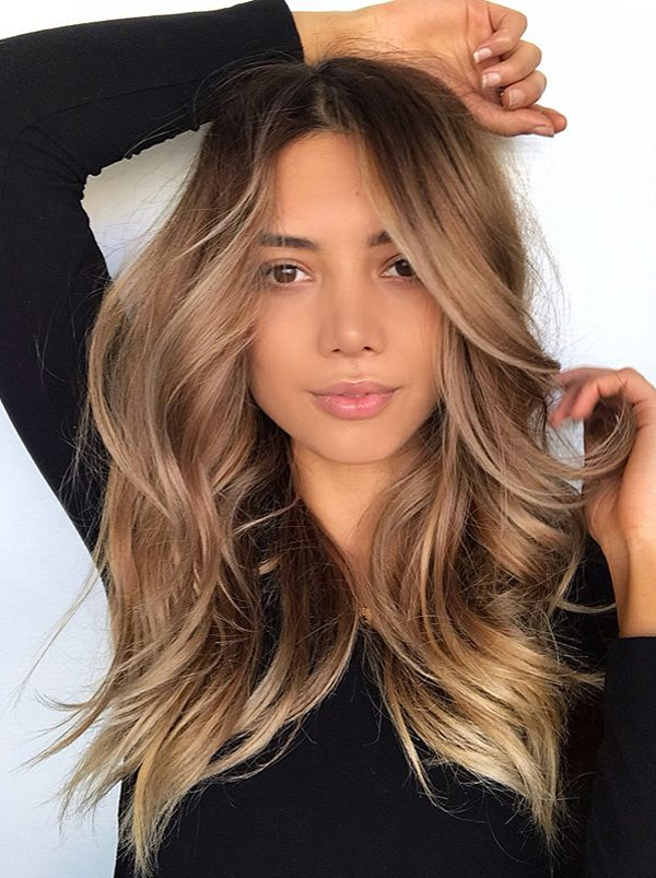 Gorgeous Balayaged Blowout Hairstyles for Long Hair in ...