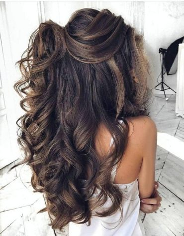 Dazzling Style of Wedding Hairstyles for 2019 Girls