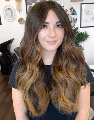 Elegant Look of Sun Kissed Balayage Hairstyle for 2019