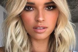Face Framing Balayaged Medium to Long Haircuts for 2019