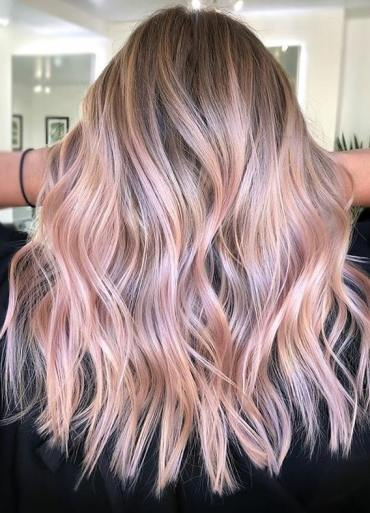 Cutest Pink Balayage Hair Color Trends to Show Off in 2020