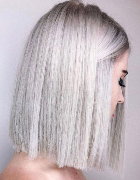 Best Silver Hair Color Ideas for Short to Medium Hair