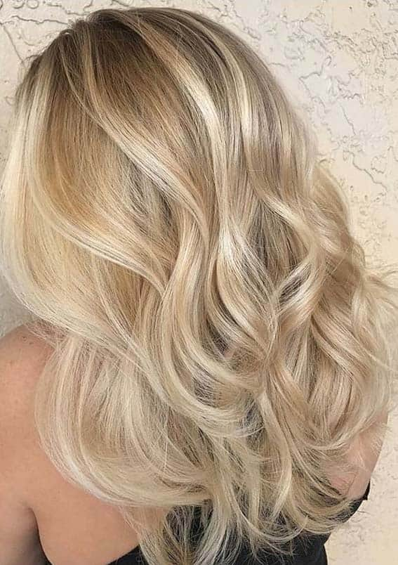 Fantastic Blonde Balaygae Hair Color Combination in 2020