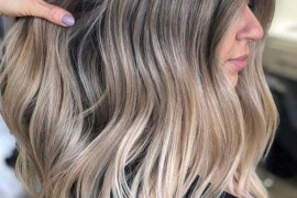 Gorgeous Balayage Hair Color Ideas Dark Roots in Year 2020