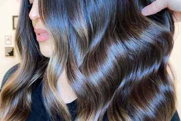 Smooth Straigh Brunette Hair Styles and Hair Colors in 2020