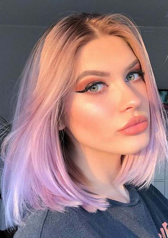 Gorgeous Baby Pink Hair Color Shades to Follow in Year 2020