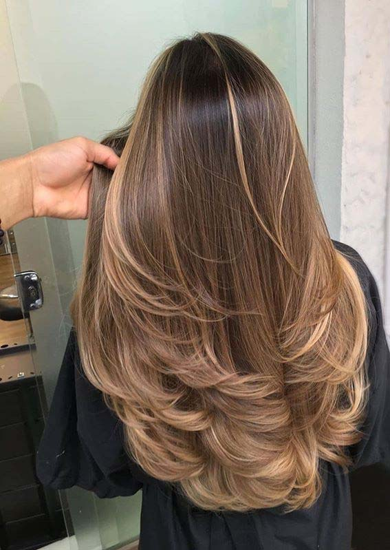 Sleek Straight Balayage Hair Colors for Women to Try in 2020