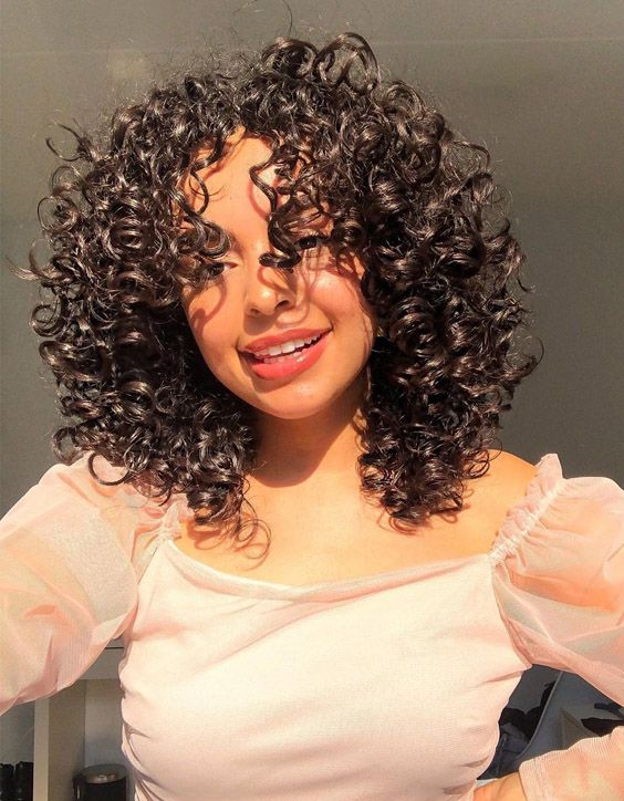 Fabulous Style of Shoulder Length Curly Hair for 2020