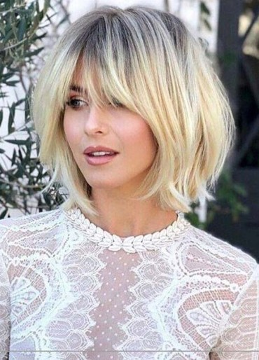 Perfect Short Blonde Haircuts with Bangs to Show in 2020