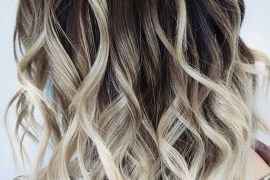 Bob lob balayage hairstyles and hair color ideas in 2020