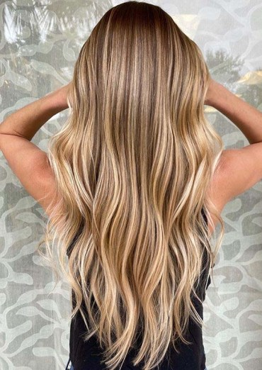 Fresh Honey Balayage Hair Color Ideas for Bold Look in 2020