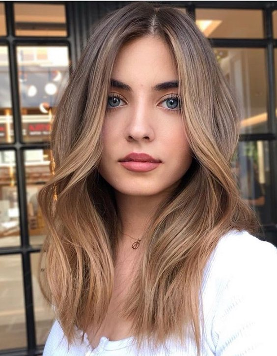 Lovely & Cool Blonde Hair Color Style for 2020