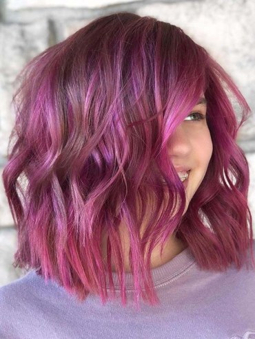 Beautiful pink balayage hair color ideas for Women 2020