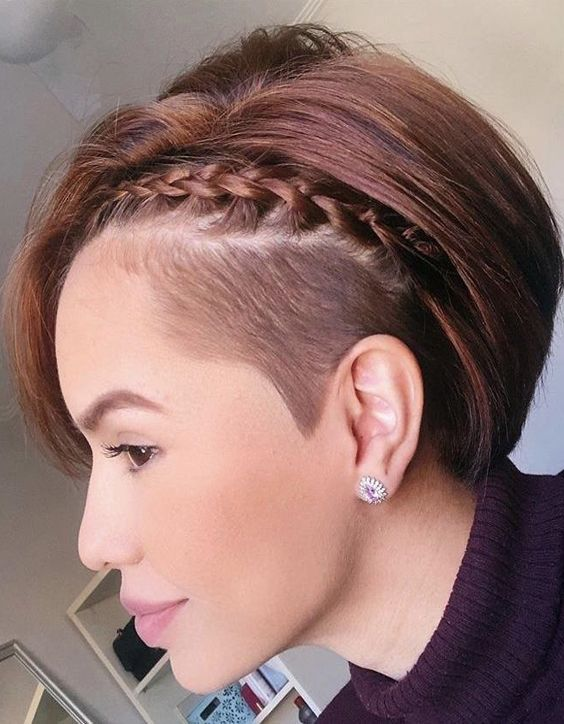 Charming Braids Hairstyles for Short Hair In 2020
