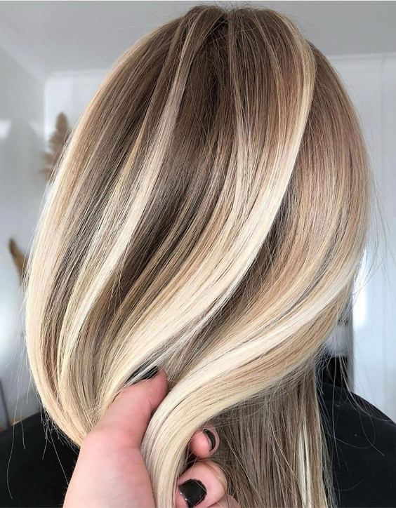 Modern Style of Balayage Highlights to Copy In 2020