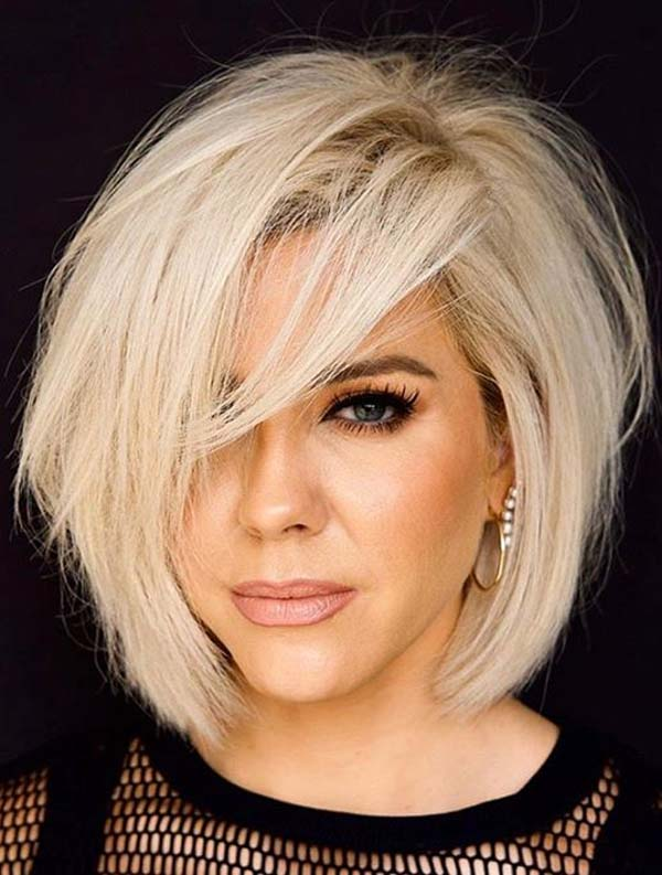 Best Textured Blonde Bob Haircuts for Ladies in 2020