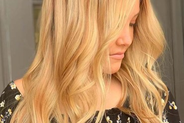 Cutest Golden Blonde Hair Colors and Hairstyles in 2020