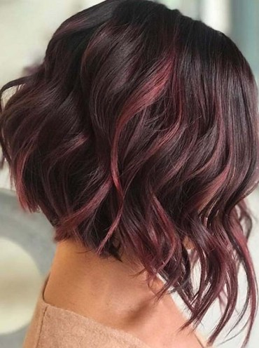 Awesome Red Balayage Hair Color Trends for Women 2020