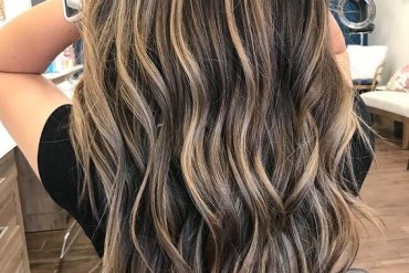Hot Chocolate Balayage Hair Color Ideas for Women 2020