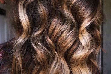 Lovely Hair Color Highlights for 2021 Girls