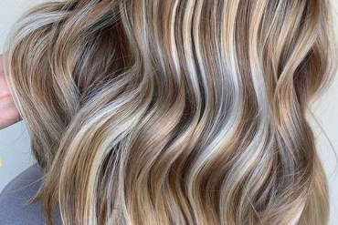 Dreamy blonde dimensional Hair Color Trends