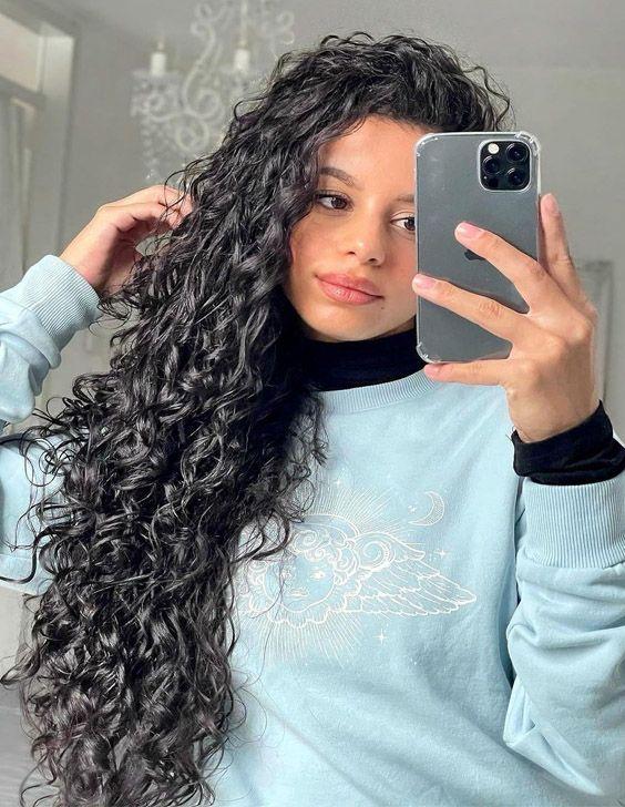 Gorgeous 2021 Curly Hair Ideas for Long Hair