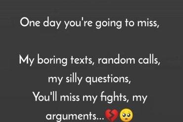 My Boring Text, Random Calls - Best Miss Quotes