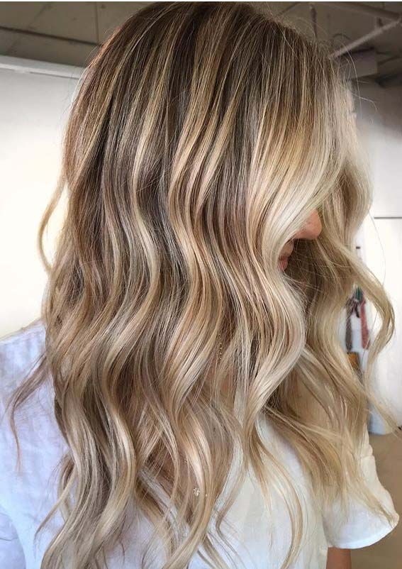 Awesome Blonde Balayage Hair Color Ideas