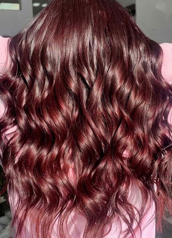 Modern Red Balayage Hair Color Ideas to Sport