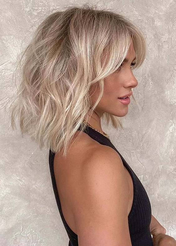 Obsessed Summer Blonde Haircuts for Women
